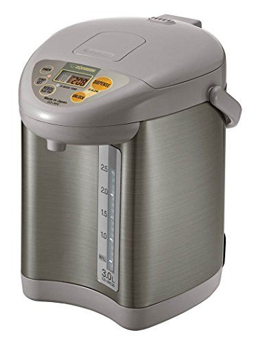 Zojirushi CD-JWC30HS Micom Water Boiler and Warmer, Silver Gray