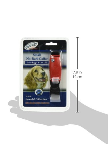 Pet Tag Classic No Bark Collar, Red, Small. by PetTag (Image #4)