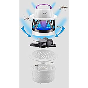 SZCHENGCI Fly Insect Zapper Killer,New Non-toxic Muted LED Electronic Eco-friendly Mosquito Control Lamp Bug For Residential and Commercial Use(MWQ-005)