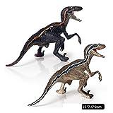 ViewHuge Realistic Dinosaur Action Figures Jungle Animal Models Toys-Deinonychus