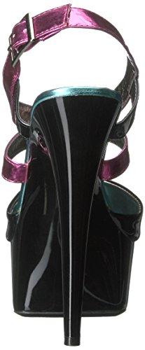 Ellie Papaya Shoes Women's Platform Sandal Fuchsia Dress 609 drrqfxt
