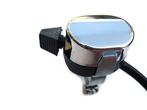 Custom Chrome Lucas Replica Indicator Blinker Turn Signal Switch for Motorcycle Motorbike Handle bar ()