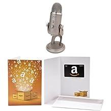 Blue Microphones Yeti USB Microphone with CDN$ 30 Amazon.ca Gift Card