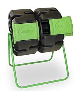 HOT FROG Dual Body Tumbling Composter