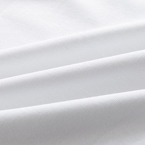 MAMABIBI Little Boys Undershirts Round Neck 100% Cotton Sleeveless T-Shirt 5 Pack by MAMABIBI (Image #6)