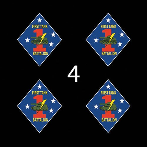 (Marines USMC 1st Tank Battalion SSI 3