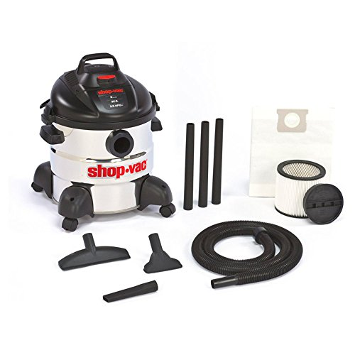 Shop Vac 8 Gallon 5.5 HP Stainless Steel Wet & Dry Vac