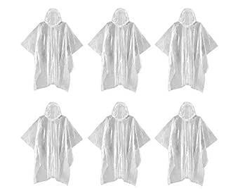 Unisex Pocket Raincoat Poncho Winter Rain Outdoor Lightweight - Travellers Best Friend (1 Pack)