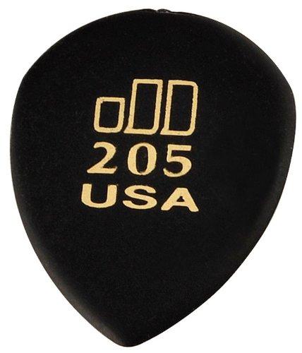 Dunlop 477R205 JD Jazztones, Black, Pointed Tip, 36/Bag