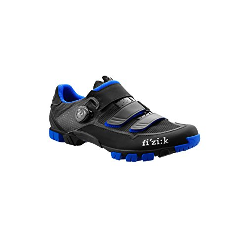 Fizik Shoes M6B UOMO BLACK-BLUE