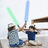 TWODNBD Laser Sword Light Up Saber, Telescopic