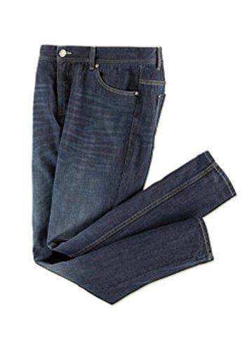Herren Jeans Hose Jeanshose Blue Denim Blau Größe Wählbar