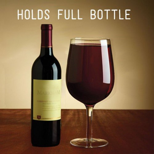 [XL Extra Large Premium Jumbo Wine Glass - Holds a Whole Bottle of Wine! Giftable Wine Glasses Glass Woman's Women Gift] (Homemade Halloween Costumes For Toddlers Ideas)