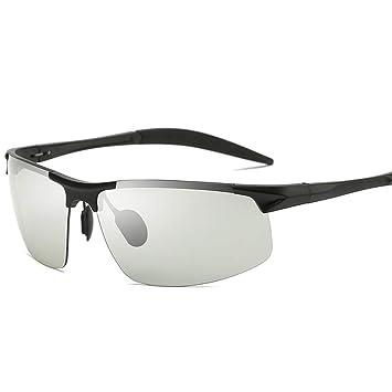 e8bbd61e3e YJF-GIASSES Gafas de Sol fotocromáticas de Moda clásicas Retro Retro con  Lente polarizada Protección