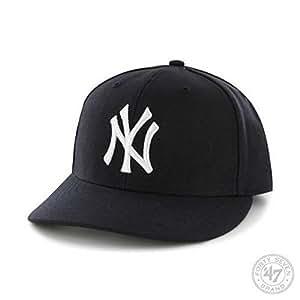 MLB New York Yankees Men's '47 Brand Home Bullpen MVP Cap, Navy, One-Size