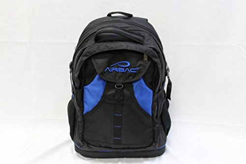 Dh Backpack (AIRBAC Technologies AirTech Notebook Backpack, Blue/Black, 15