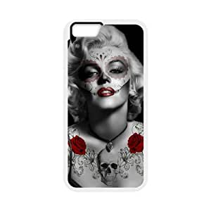 """Zombie Marilyn Monroe Classic Personalized Phone Case for Iphone6 4.7"""",custom cover case ygtg692311"""