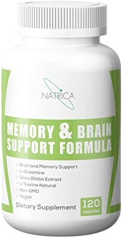 Natrica Memory Brain Support Formula, 120Count