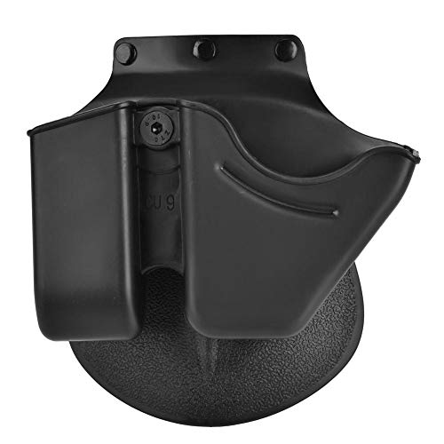 Cuff Mag Combo - Dilwe Magazine Combo, Portable Quick Release Magazine Holster and Handcuff Case Magazine Pouch Accessory for 9mm 6909 Magazine