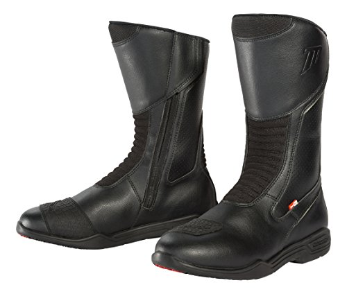 (TourMaster Men's Epic Touring Motorcycle Boots (Black, Size 13))