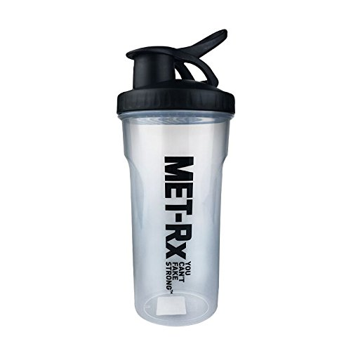 700ml BPA Free Plasitc Water Bottle Protein Shaker Jar Sports Bottle Direct Drinking Kitchen Cheap (White)