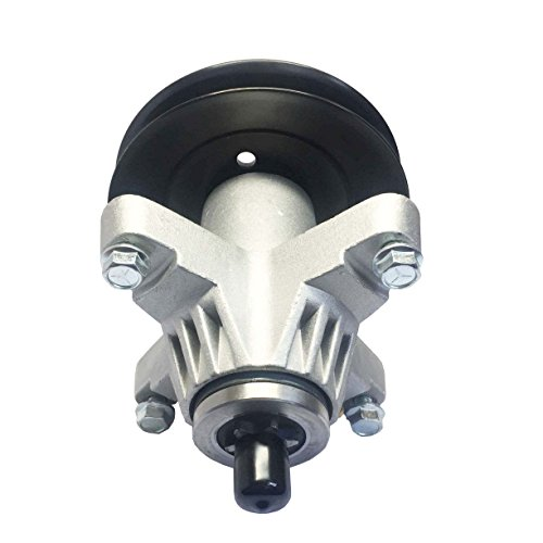 q&p 3 PK Riding Lawn Mower Spindle Assembly for 918-04126 , 918-04126, 618-04126, 918-04126A, 918-04125B, 618-04126A, 618-04125, 918-04125 with 4 Bolt