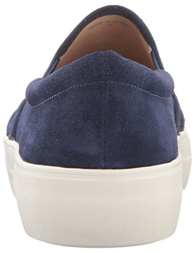 J Slides JSlides Damen Aztec Fashion Sneaker Navy Wildleder