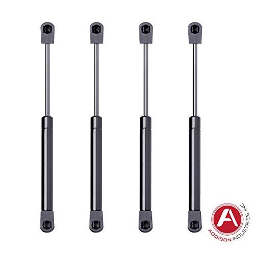 Addison Top Quality 10 Inch Gas Spring, 20 LBS (89 Newton) Force Each, Set of 4, Gas Strut Gas Prop Gas Lift Support Lift Strut For RV Motorhome Trailer Fifth Wheel Camper Saddle Box Tool Box Lid