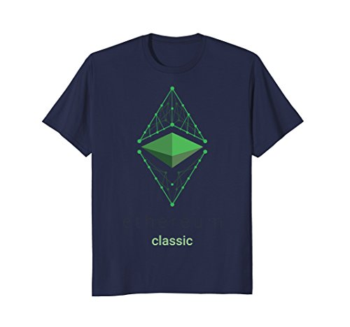 Ethereum Classic ETC Logo Cryptocurrency T-Shirt
