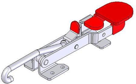 DE-STA-CO 351-R 당김 래치 클램프/DE-STA-CO 351-R Pull A..