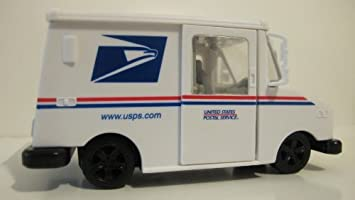 USPS Toy Postal Vehicle Mail Truck 1/32 Scale: Amazon co uk