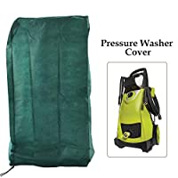 Ecover Dustproof Pressure Washer Cover Electric Power Washer Cover, 2.3 x 2.3 x 3.8ft Dark Green