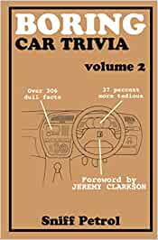 Boring Car Trivia volume 2