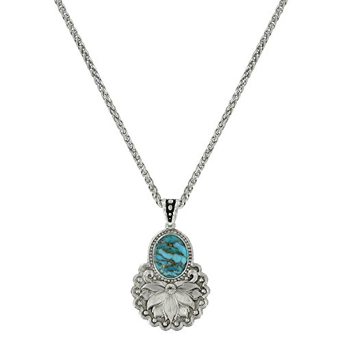 Montana Silver Plated Plates (Holding onto Nature Turquoise Necklace (NC3357))