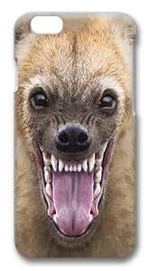 Big Face Hyena Custom iphone 6 plus 5.5 inch Case Cover Polycarbonate 3D