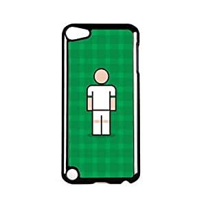 Monchengladbach Black Hard Plastic Case for Apple? iPod Touch 5th Gen by Blunt Football European + FREE Crystal Clear Screen Protector