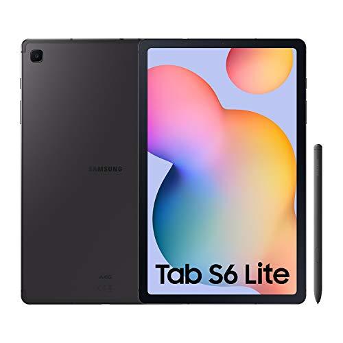 """SAMSUNG Galaxy Tab S6 Lite – Tablet de 10.4"""" (LTE, 4G, Procesador Exynos 9611, RAM de 4GB RAM, Almacenamiento de 64GB…"""
