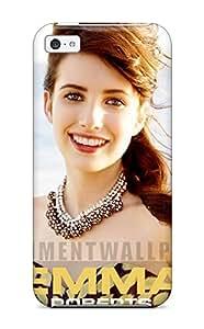 2296329K24338930 premium Phone Case For Iphone 5c/ Emma Roberts?wallpaper Tpu Case Cover