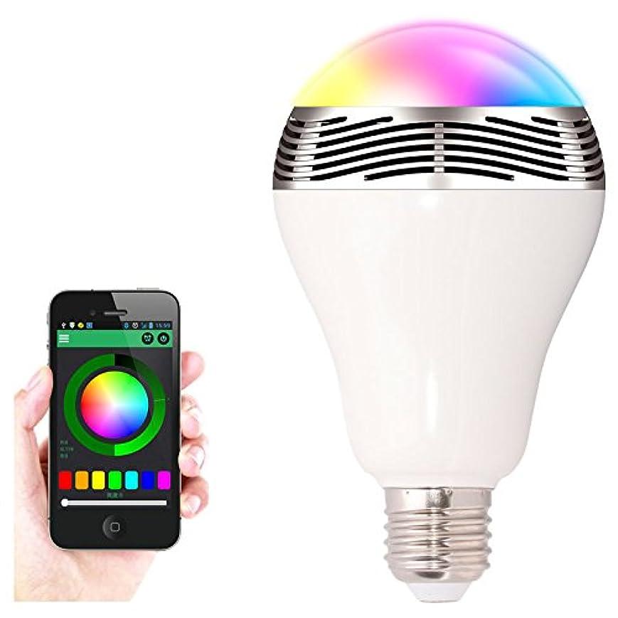 家主画像小切手MiPow PLAY BULB Light スピーカー内蔵 LED SMARTライト BTL100S [並行輸入品]