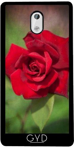 Funda de silicona para Nokia 3 - Rosa Roja by J McCool