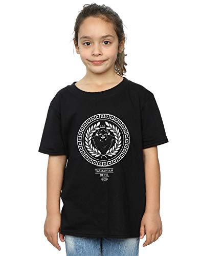 Greek Looney T Absolute Taz Noir Fille shirt Cult Circle Tunes 5XxwqwTR0
