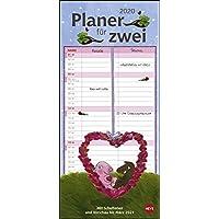 Rosalie & Trüffel Planer für zwei 2020 16x34,7cm