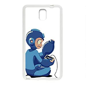 Blue Rockman Cell Phone Case for Samsung Galaxy Note3