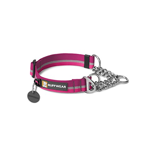 Ruffwear – Chain Reaction Limited Cinch, Audible Correction Collar, Purple Dusk, Medium