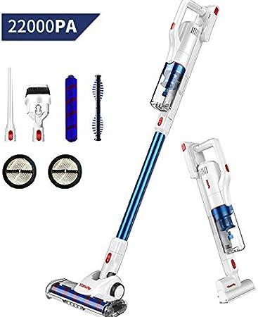 Vistefly V10 Aspiradora Escoba sin Cable, 22KPA,250W, Batería ...
