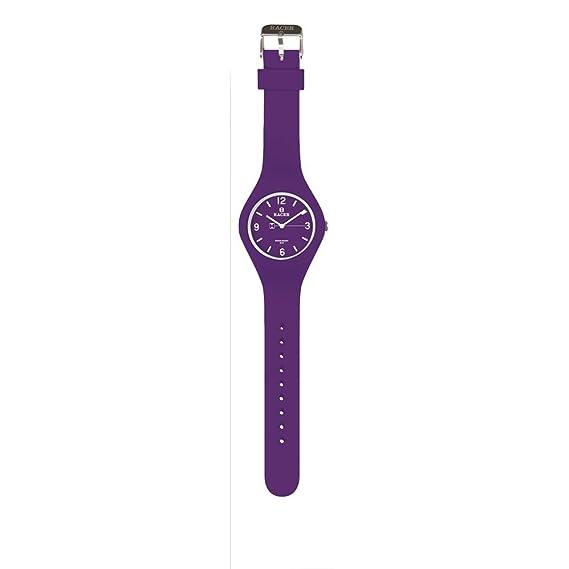 Racer Reloj Analógico para Unisex Adultos de Cuarzo con Correa en Cuero E300: Amazon.es: Relojes