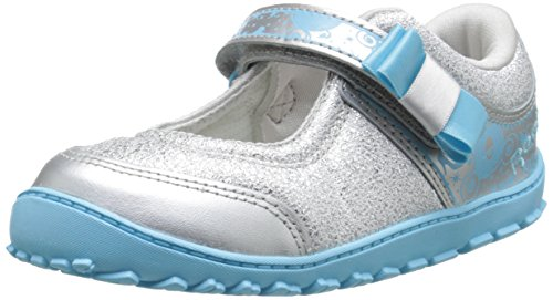 Reebok Cinderella (Infant/Toddler),Matte Silver/Blue Pool/White/Steel,