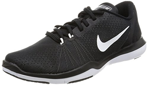 Nike Wmns Flex Supreme Tr 5, Entrenadores para Mujer, Multicolor Multicolor (Black/white/pure Platinum)