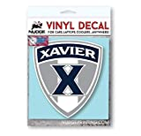 #7: Nudge Printing Xavier University Musketeers X Shield Car Window Decal Bumper Sticker
