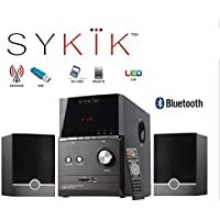 Sykik Sound SPME51 , powerful Bluetooth sound system, with 5 Sub-woofer, SD, USB, Remote and FM Radio